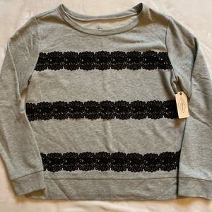 St. John's Bay lightweight sweatshirt